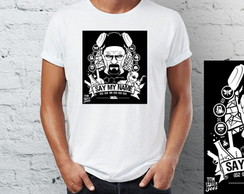 Camiseta Camisa Breaking Bad - model 1