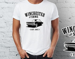 Camiseta Camisa supernatural carro