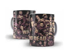 Caneca The Walking Dead Elenco