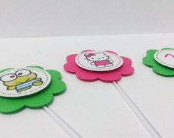 Topper Hello Kitty e Keroppi