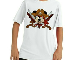 Camiseta Mickey pirata