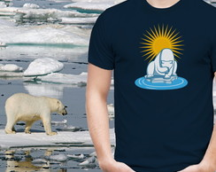 Camiseta Ecológica - Aquecimento Global