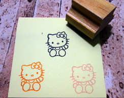 Carimbo 3x3 cm - Hello Kitty