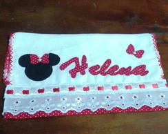 fraldinha de patch aplique minnie
