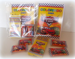 kit de colorir Carros disney