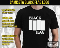 Camiseta de banda de rock - Black Flag