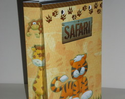 Sacola 14x9 Estampada Safari