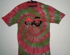 Camiseta tie dye Cheech Chong