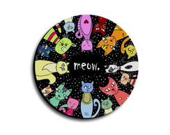 Mouse Pad Gatos Meow