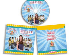 Dvd ou Cd personalizado Carrossel
