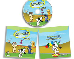 DVD ou CD personalizado do Doki