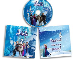 DVD ou CD personalizado Frozen