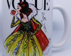 Caneca Princesas Disney Branca de Neve by Vogue