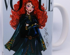 Caneca Princesas Disney Merida by Vogue