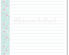 Insert Planner (Personal)-Floral Clean