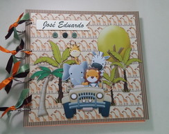 Álbum Baby Safari Scrapbook