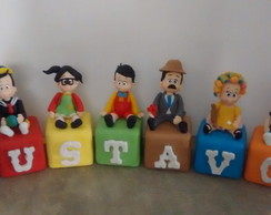 Cubos turma do chaves