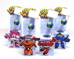 Porta Tubete Super Wings