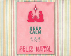 Poster digital Natal keep Calm