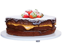 Naked Cake de Brownie - Tam.: Grande.