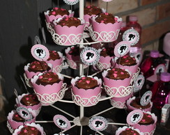 Topper Barbie cupcake