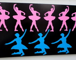 Painel Ballet Pink and Blue
