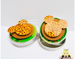 Latinha Mickey Safari personalizada