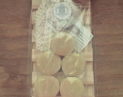 Kit Sabonetes Macarons + Soap Saver