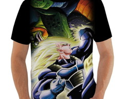 Camiseta Vegeta vs Cell