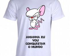 80412b4e7e6 Camiseta Pinky e o Cérebro 05 no Elo7