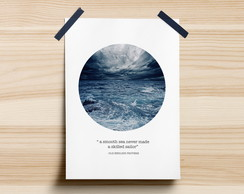 Poster Smooth Sea