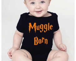 Body bebê - Harry Potter - Muggle born