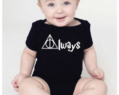 Body bebê - Harry Potter - always
