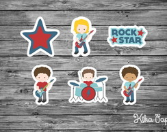 Aplique Rock Star 5 cm