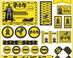 Kit Festa Digital (10 artes)Batman