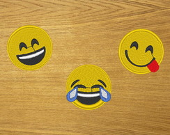 Patches Bordados Emojis 1