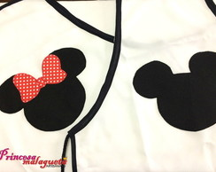 Avental Mickey e Minnie