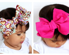 Headwrap Dupla face - Bia