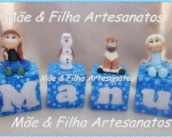 Cubos Decorados Frozen