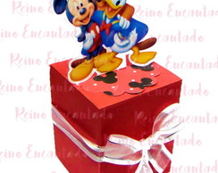 Caixa Cubo Scrap Turma do Mickey