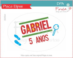 Placa Elipse Digital DPA