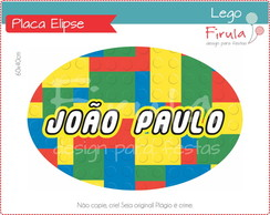 Placa Elipse Digital Lego