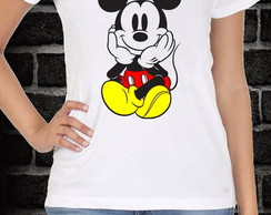 CAMISA BABY LOOK MICKEY - Disney