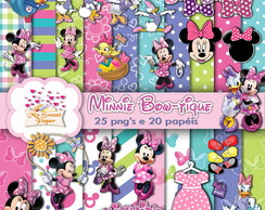 KIT DIGITAL Minnie Boutique