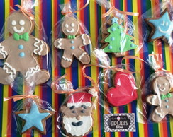Gingerbread decorado com Glace real
