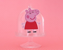 Mini-cúpula com aplique - peppa
