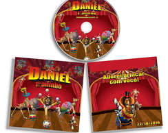 Dvd ou Cd Madagascar Circo