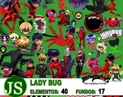 Scrapbook Digital Miraculous LadyBug