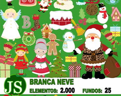 Super Kit Digital Scrapbook Natal