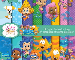 Kit digital Bubble Guppies